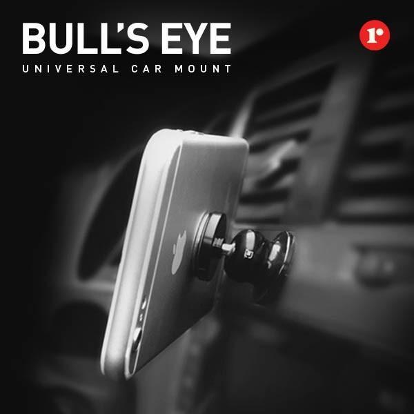 車載ホルダー スマホ タブレット マグネットBull's Eye 車載 マグネットホルダー 磁力タイプ 簡単 ホルダー iPhone 車載スタンド 【HIT】 定形外|vaniastore