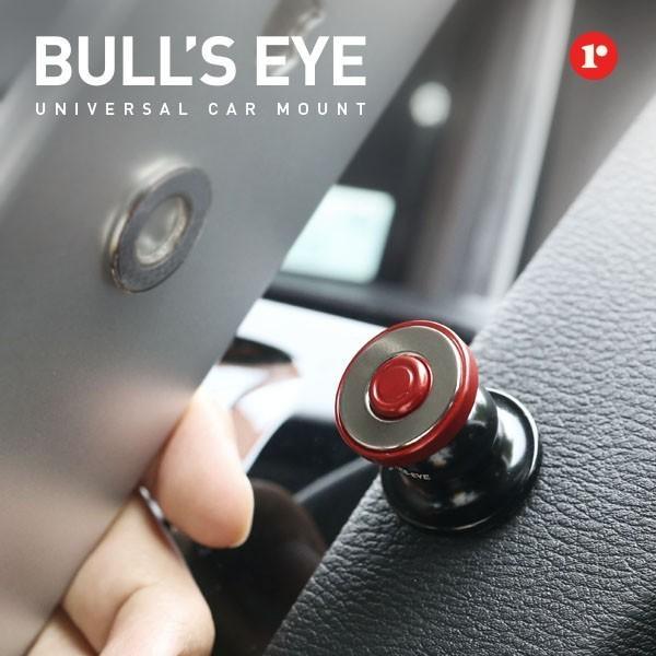 車載ホルダー スマホ タブレット マグネットBull's Eye 車載 マグネットホルダー 磁力タイプ 簡単 ホルダー iPhone 車載スタンド 【HIT】 定形外|vaniastore|02