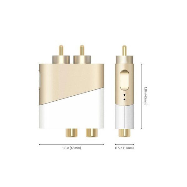 オーディオレシーバー SLASH R/RCA type Bluetooth ワイヤレスシステム スピーカー ノイズレス 車載 宅配便