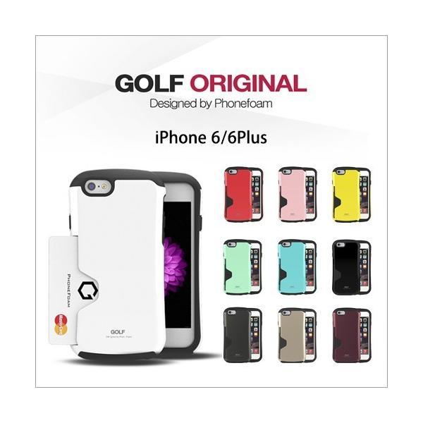 iPhone 8 ケース iPhone 7 iPhone 8 Plus 7 Plus SE/5s/5/ iPhone6s 6s Plus カード収納 GOLF ORIGINAL ICカード 【HIT】 ゆうパケット|vaniastore|02
