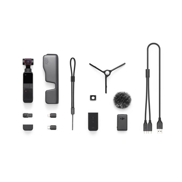 DJI OSMO POCKET 2 Combo オスモ ポケット コンボ 三脚 マイク ワイヤレスモジュール ビデオカメラ 手ぶれ補正 宅急便|vaniastore|04
