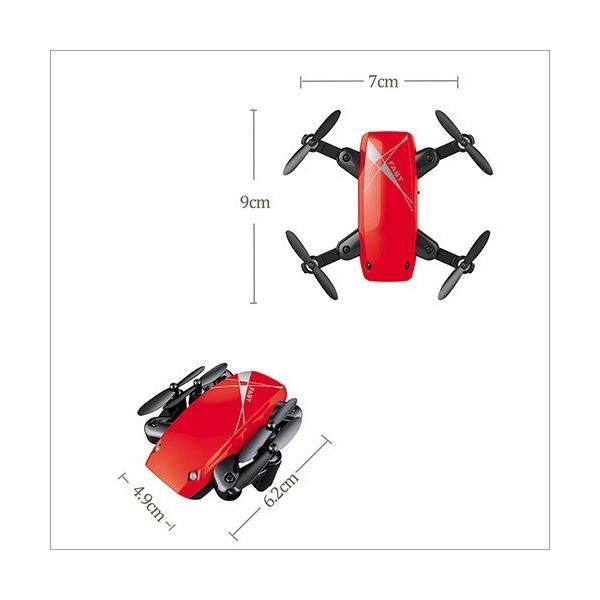 ドローン カメラ付き 小型 初心者 ラジコン S9 Mini スマホ 空撮 リアルタイム おもちゃ 日本語説明書付き 宅配便|vaniastore|05