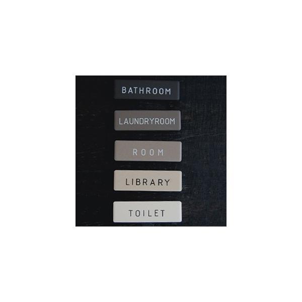 RoomClip商品情報 - ドアプレート ドアサイン セラミック ミニタイプ 部屋表札 ルームプレート シンプルプレート 激安 ルームサイン ゆうパケット