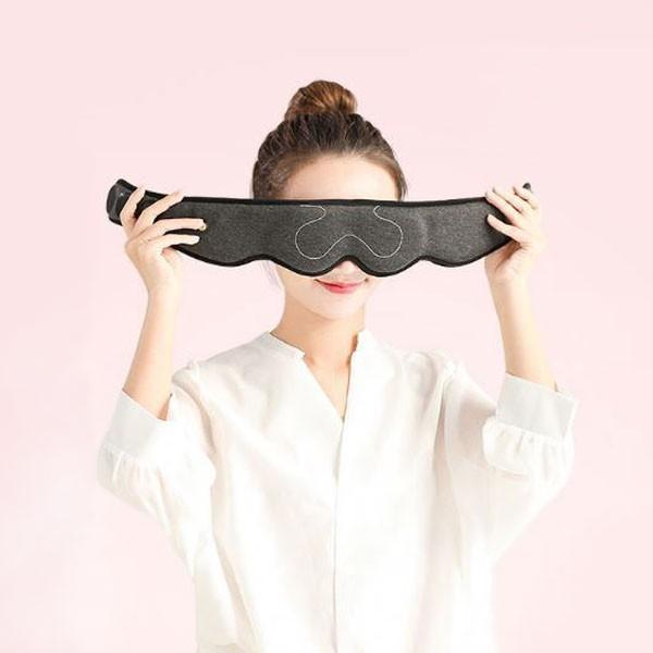 USB アイマスク 3Dヘッド立体蒸気 ホット 繰り返し アイウォーマー 安眠 眼精疲労 目の疲れ 遮光 温熱 目元ケア 温度調整 蒸気 暖かい 洗える 定形外無料|vaniastore|02