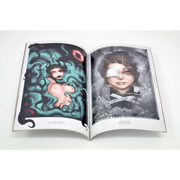 GENk / 画集「BLOOD BLISTER 2 -THE BOOK OF SWEETRUBBERBERRY-」(サイン入り)|vanilla-gallery|02