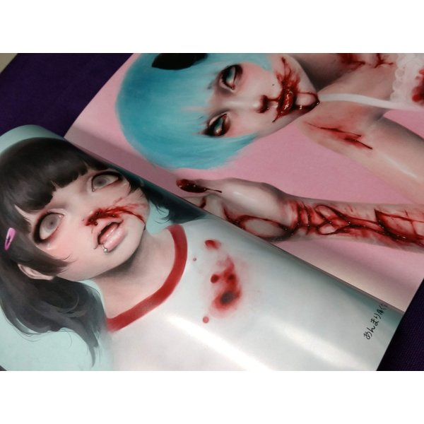 GENk/画集『Unknown Cults』(サイン入りSigned)|vanilla-gallery|03