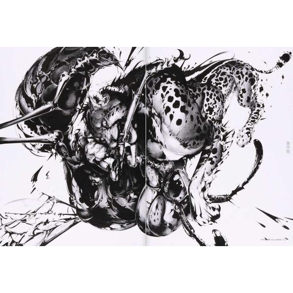 猫将軍 ILLUSTRATION MAKING & VISUAL BOOK  (サイン入り) vanilla-gallery 05