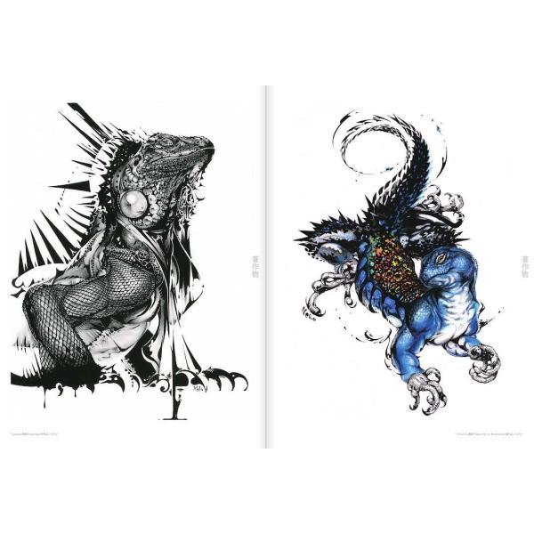 猫将軍 ILLUSTRATION MAKING & VISUAL BOOK  (サイン入り) vanilla-gallery 08