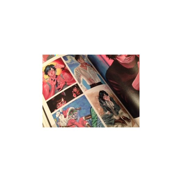 カネオヤサチコ画集『SAC』|vanilla-gallery|03