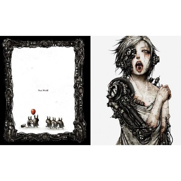shichigoro-shingo /画集『ウサロボセカイ』(サイン入り)|vanilla-gallery|02