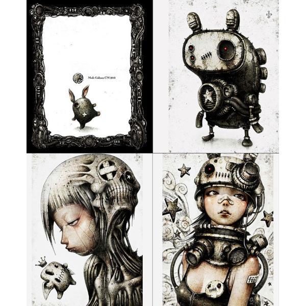 shichigoro-shingo /画集『ウサロボセカイ』(サイン入り)|vanilla-gallery|03