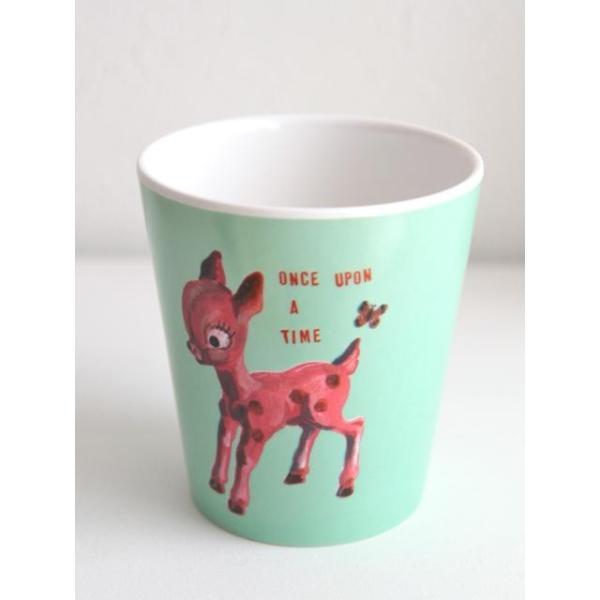 Nathalie Lete Water Cup deer(ナタリーレテ ウォーターカップ バンビ) キッズ 子供食器 プラスティックコップ 出産祝い お食い初め