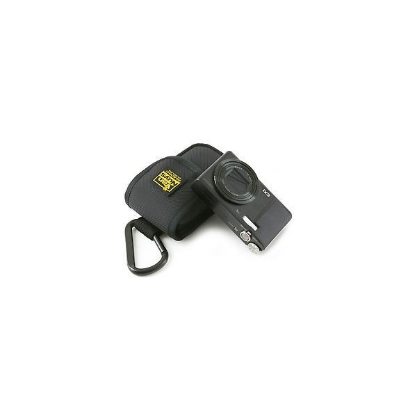 レンズと液晶をカードで保護するリコー CX6/CX5/CX4/CX3/CX2/CX1/R10/R8/R50用低反発クッション材底パット入り縦型キャリングケース【バンナイズ/VanNuys】