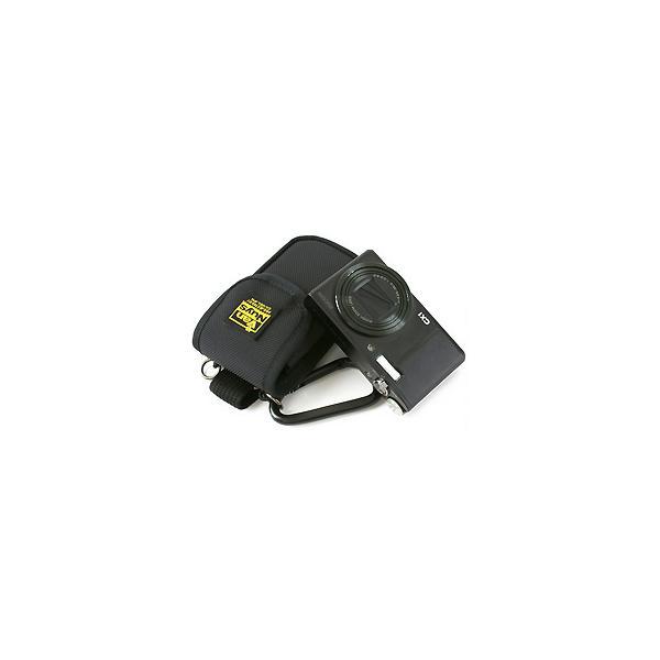 レンズと液晶をカードで保護するリコー CX6/CX5/CX4/CX3/CX2/CX1/R10/R8/R50用低反発クッション材底パット入り縦型キャリングケース/5WAY【バンナイズ/VanNuys】