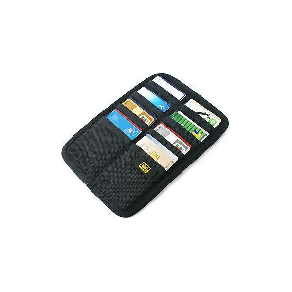 フラット Bag in カードケース /裏表縦横収納タイプ/バリスティック ナイロン < 名刺 クレジットカード カードホルダー >