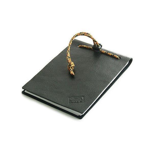 革 と バンナイズ 紐 で作る メモノート < 牛革 メモ帳 コピー用紙 エコ 文具 手帳 カバー >