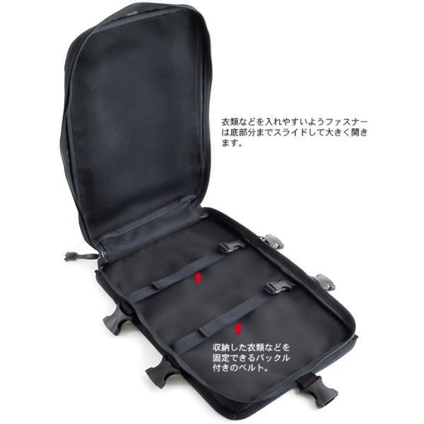 スクエア バックパック/ハイエンドカスタムモデル(トリプルファスナー ガーメントポケット付き) < リュック アウトドア メンズ 大容量 >