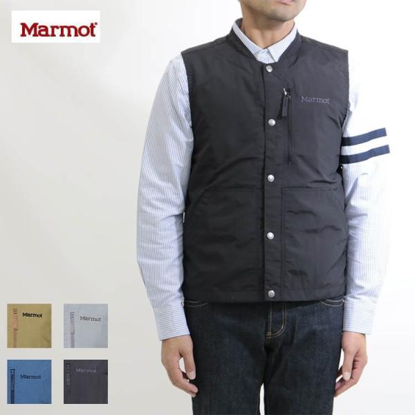 Marmot(マーモット)Nomad Worker Vest/ノマドワーカーベスト(17FW)MJJ-F7016