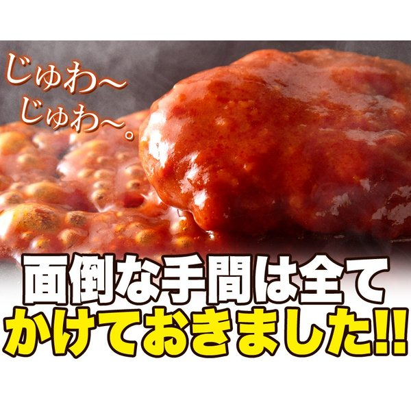 ポイント消化 野菜入り デミグラス 煮込みハンバーグ 約200g×3袋  送料無料 セール vape-land 10