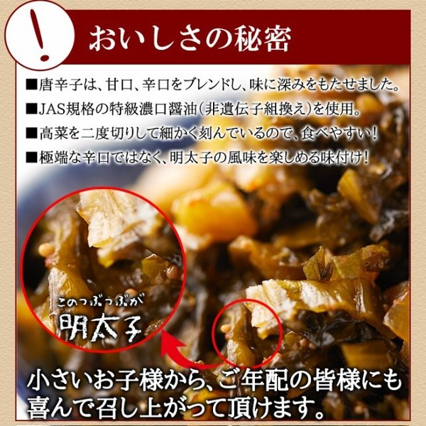 高菜明太 たっぷり 大容量 業務用 400g ポイント消化 送料無料 ご飯のお供 セール|vape-land|06