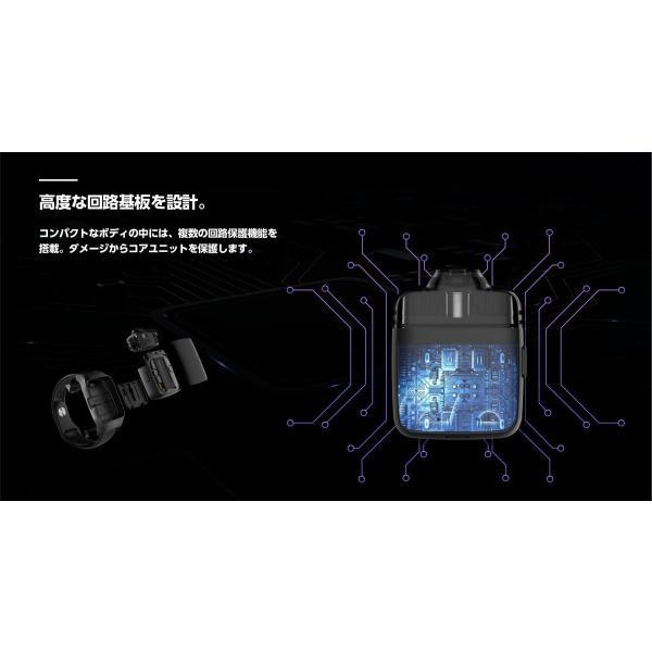 電子タバコ ベイプ スターターキット UWEL ユーウェル Amulet Pod System アミュレットポッドシステム ベプログ VAPE ベープ 本体 禁煙 充電式 vapecollection 09