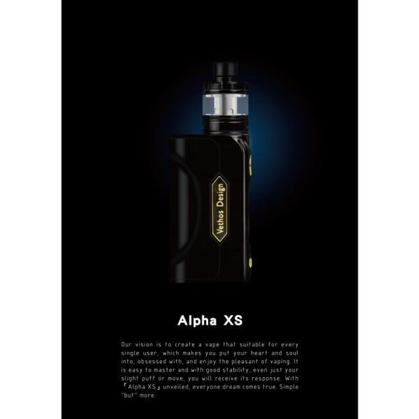 電子タバコ VAPE PICOより優秀 Vethos Design Alpha XS KIT 本格的に、ちょっと高級な物をお探しの方にオススメ|vapekobesannomiya|03