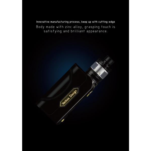 電子タバコ VAPE PICOより優秀 Vethos Design Alpha XS KIT 本格的に、ちょっと高級な物をお探しの方にオススメ べイプ 電子たばこ 電子煙草|vapekobesannomiya|04