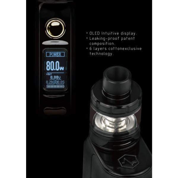 電子タバコ VAPE PICOより優秀 Vethos Design Alpha XS KIT 本格的に、ちょっと高級な物をお探しの方にオススメ べイプ 電子たばこ 電子煙草|vapekobesannomiya|07