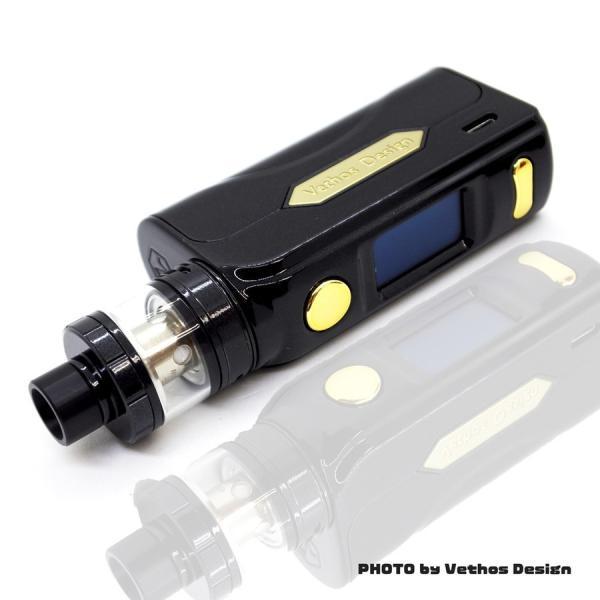 電子タバコ VAPE PICOより優秀 Vethos Design Alpha XS KIT 本格的に、ちょっと高級な物をお探しの方にオススメ べイプ 電子たばこ 電子煙草|vapekobesannomiya|10