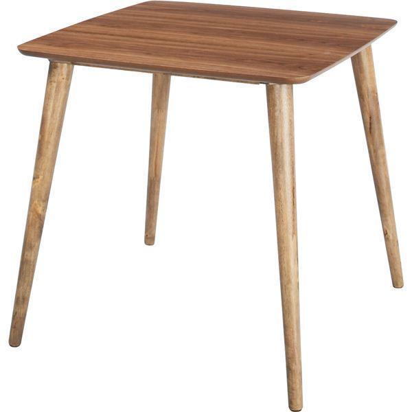 ダイニングテーブル 〔Tomte〕トムテ 正方形 木製(天然木) TAC-241WAL|vapenet