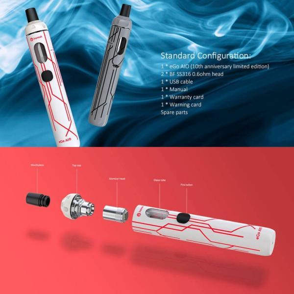 電子タバコ 本体 スターターキットeGo AIO ペンタイプ 電子たばこ スティックタイプ 全15色|vapesteez|02