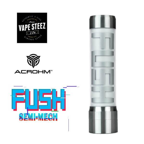 電子タバコ メカニカルMOD ACROHM FUSH Semi-Mech MOD LED 半メカニカル 18650バッテリー|vapesteez