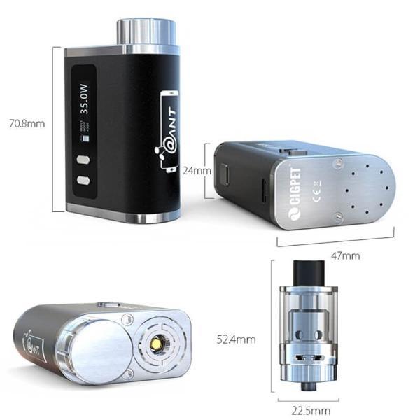 電子タバコ iJOY CIGPET ANT Starter Kit  Sony VTC4バッテリー1本付き|vapesteez|02
