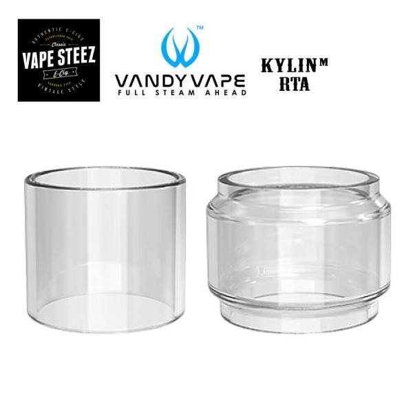 (メール便で)VandyvapeKYLINMRTApylexglassヴァンディペイプキリンMパイレックスアトマイザータンク電子