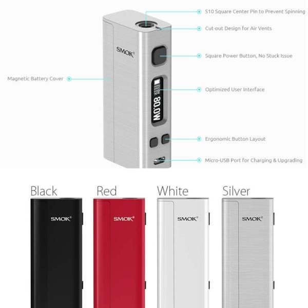 電子タバコ SMOK Nano One BOX MOD STARTER KITスターターキット 爆煙|vapesteez|04
