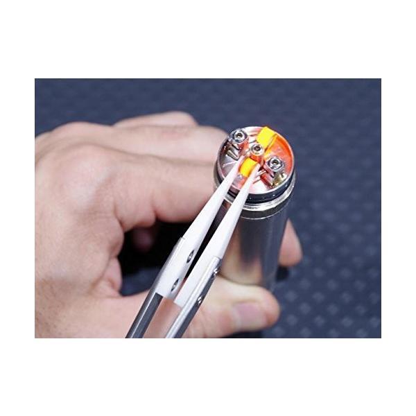 電子タバコ リビルダブル用 セラミックピンセット RDA コイル ワイアー カンタル|vapesteez|03