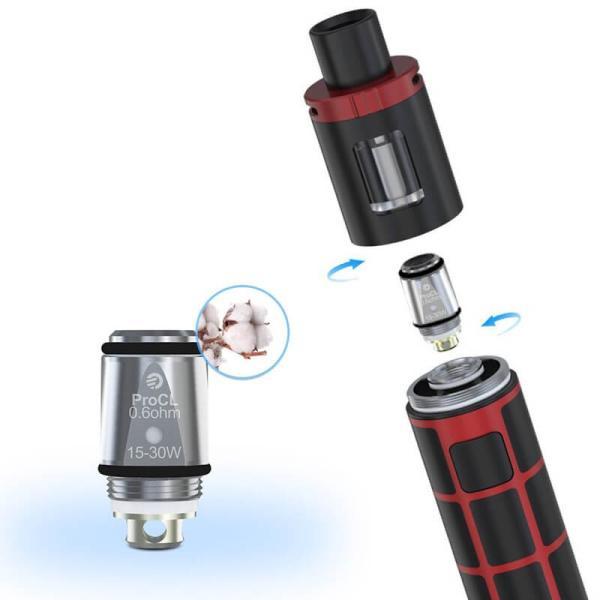 電子タバコ Joyetech社 eGO ONE TFTA用 交換コイル Pro CLコイル 5個セット 正規品|vapesteez|02