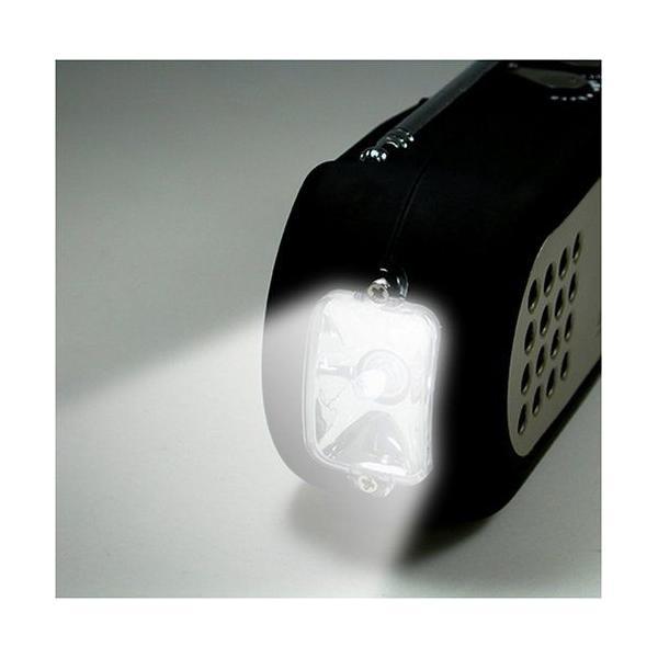 DRETEC/ドリテック 手回しケータイ充電ラジオ PR-306BK __ vaps 03
