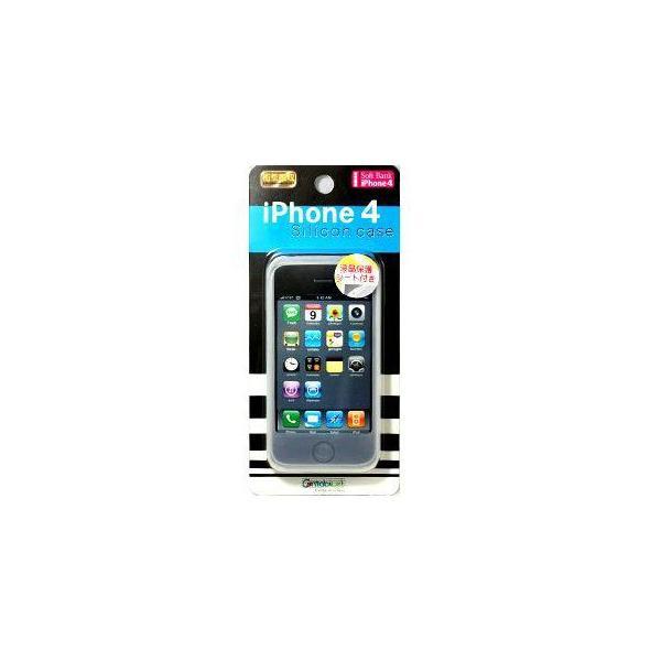 iPhone4専用◆シリコンケース◆CA-IP401WH _|vaps