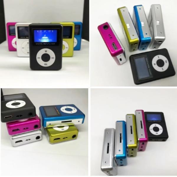 スピーカー搭載 microSD式 MP3プレーヤー DT-SP08 (ブラック) _|vaps|02
