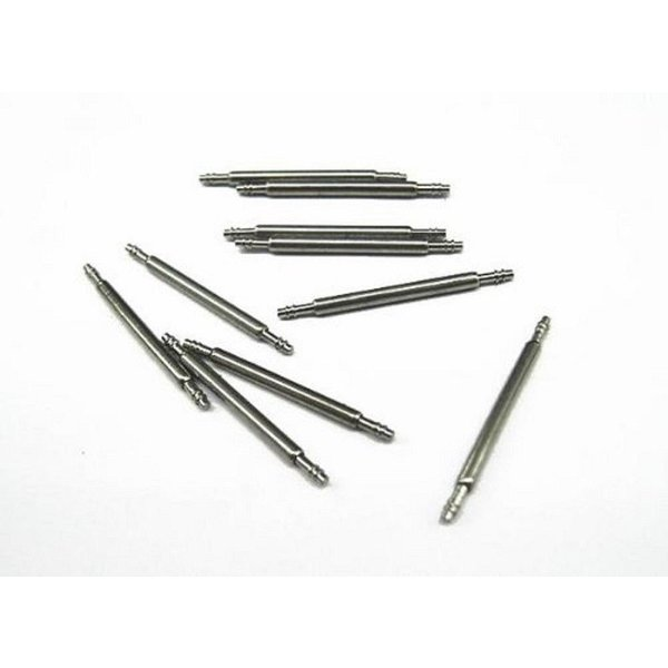 PLATA バネ棒 ステンレス製 時計工具 「 23mm 」 10個セット _