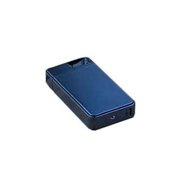 USB充電 スイッチ式 プラズマライター アーク放電 (ブルー) _