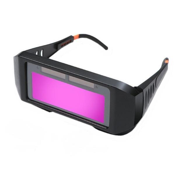 溶接メガネ 自動変光 遮光 保護 サングラス ゴーグル 眼鏡 アーク溶接 _