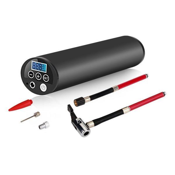 電動エアーポンプ 空気入れ スマートエアーポンプ 小型 自動車 ロードバイク ボール 浮き輪 対応 充電式 __