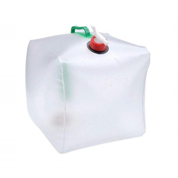 ウォータータンク 20L 折りたたみ ウォーターバッグ 給水袋 貯水 水コンテナ __