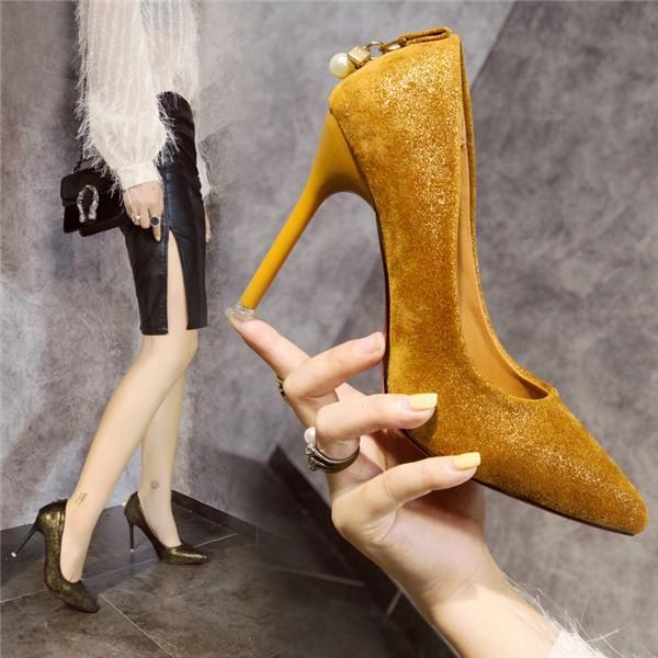 パンプス ハイヒール ピンヒール 結婚式 パーティー レディース 靴 歩きやすい 痛くない 疲れない 美脚 脚長 おしゃれ