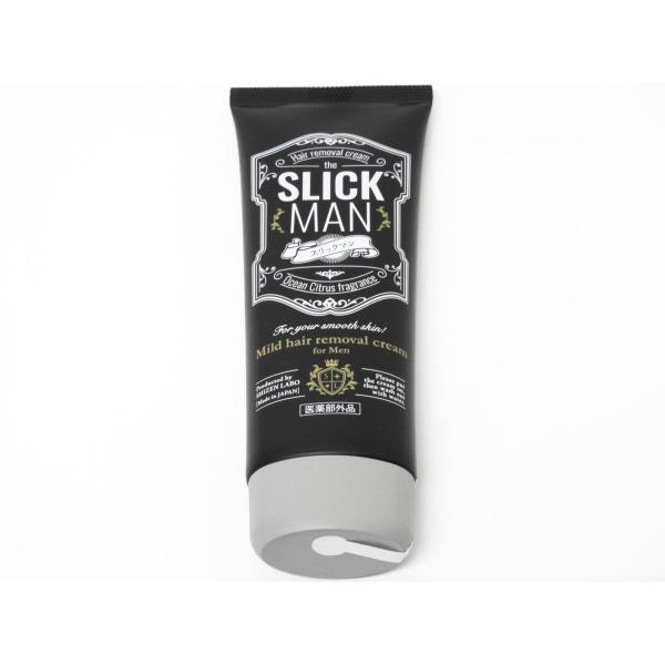 SLICK MAN スリックマン 男性用除毛クリーム 120g(約1ヶ月分) SNSで話題 大人気!!