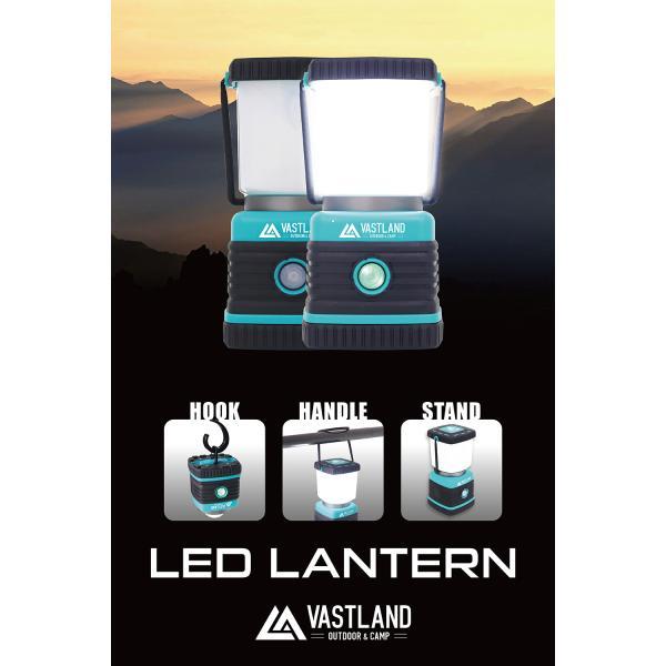 LED ランタン LEDランタン 1000ルーメン 電池式 暖色 白色 4種類点灯モード 災害用 防犯 キャンプ VASTLAND|vastland|07