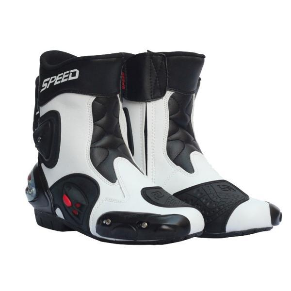 レーシングブーツ スポーツバイク用 強化防衛性 バイクブーツ スポーツブーツ バイク レーシングブーツ オートバイ靴 バイク用品 2色選ぶ vastmart 05