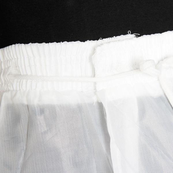 90d032737adff ... パニエ ボリューム 大人 3段 ロング 3本ワイヤーパニエ ウエディングドレス パーティードレス用 白 ...